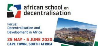 Call for Applications: African School on Decentralisation 2020 (Funding available)
