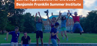 U.S. Embassy in Switzerland & Liechtenstein Benjamin Franklin Transatlantic Fellows Summer Institute 2020 (Fully-funded)