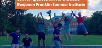 U.S. Embassy in Switzerland & Liechtenstein Benjamin Franklin Transatlantic Fellows Summer Institute 2020 (Fully-funded)