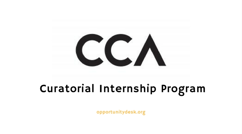 Canadian Centre for Architecture (CCA) Curatorial Internship Program 2020 (stipend of $2,500 CAD)