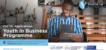 Cape Innovation & Technology Initiative (CiTi) Youth in Business Programme 2020 for Entrepreneurs in South Africa