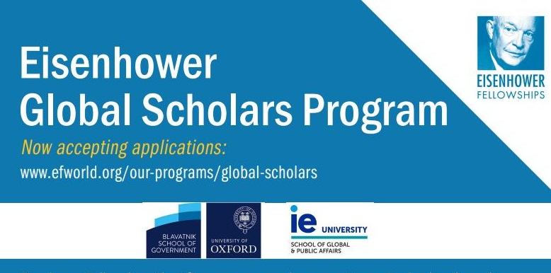 Eisenhower Global Scholars Program 2020/2021 for American University Graduates