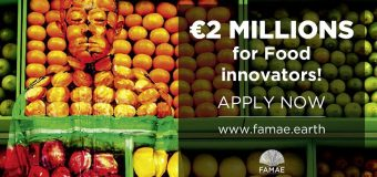 Food for Good! FAMAE Challenge 2019-2020 to Develop Innovative and Concrete Solution (€2 Million in Prizes)