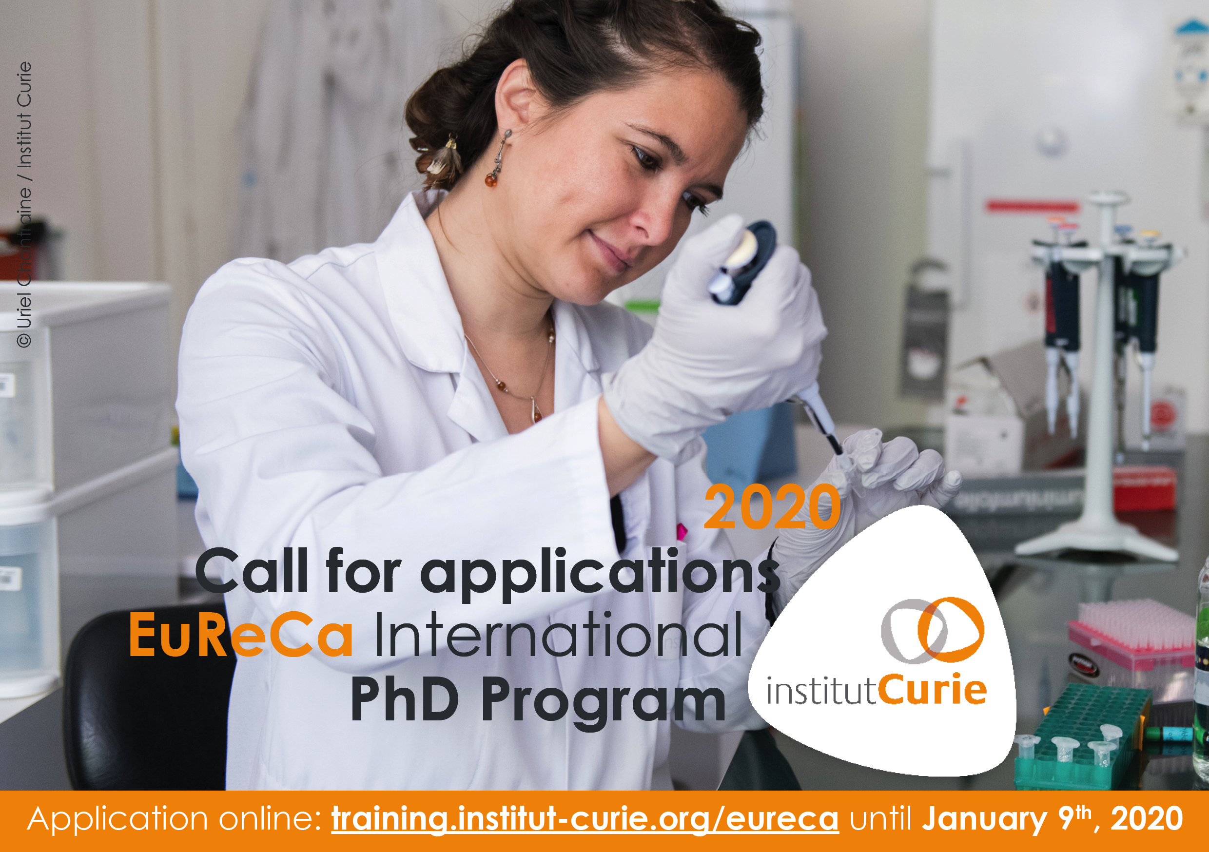 Institut Curie Europe Research & Care (EuReCa) International PhD Program 2020
