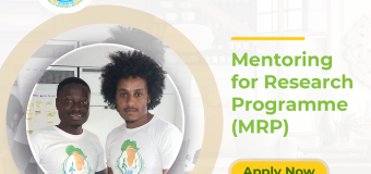 International Support Network for African Development (ISNAD-Africa) Mentoring for Research Programme 2020