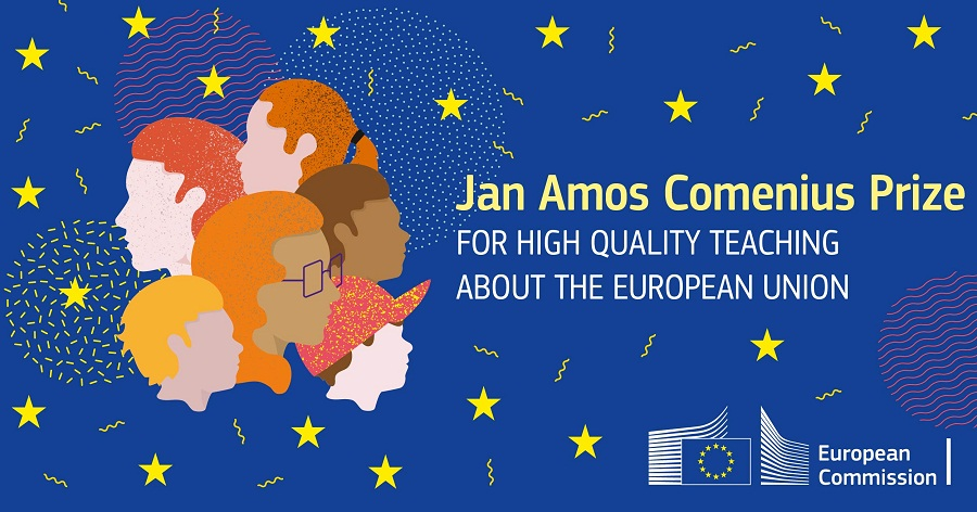 Jan Amos Comenius Prize 2019 for High Quality Teaching About the EU (Prizes of €8,000)
