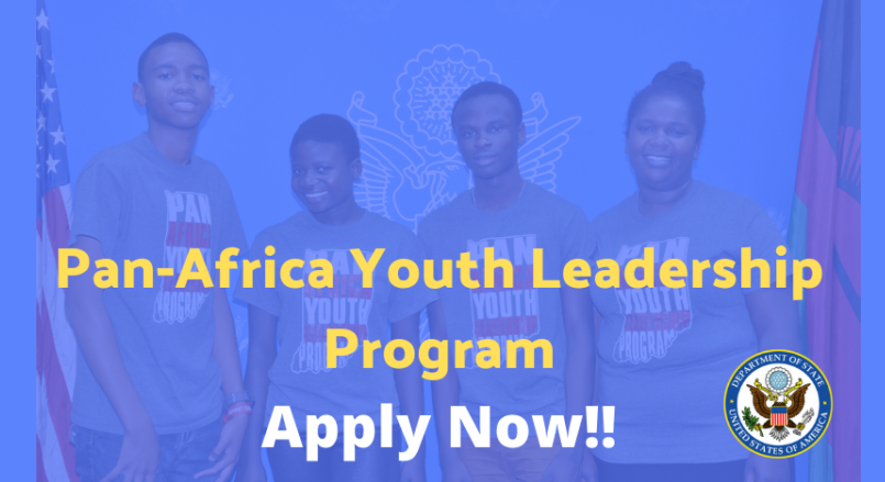 U.S. Embassy in Sudan Pan-Africa Youth Leadership Program (PAYLP) 2020 (Funded to the US)