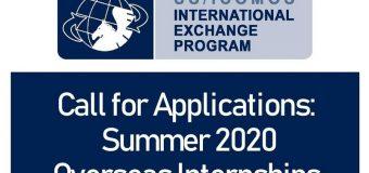 US/ICOMOS International Exchange Internship Program 2020 (Stipend available)