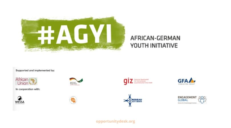 African-German Youth Initiative Innovation Fund 2020 – Call for Project Proposals (Up to EUR 12.000)