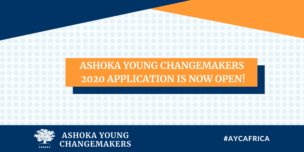 Ashoka Young Changemakers Programme for Nigerians 2020 (fully-funded)