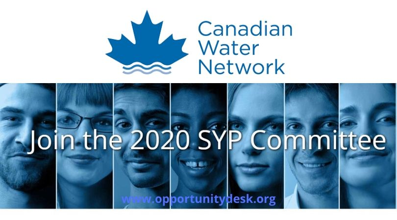 Call for Applications: Canadian Water Network 2020 Student and Young Professional Committee