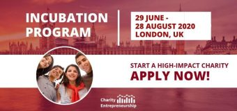 Charity Entrepreneurship Incubation Program 2020 (Fully-funded Boot Camp and up to $100,000 seed funding)