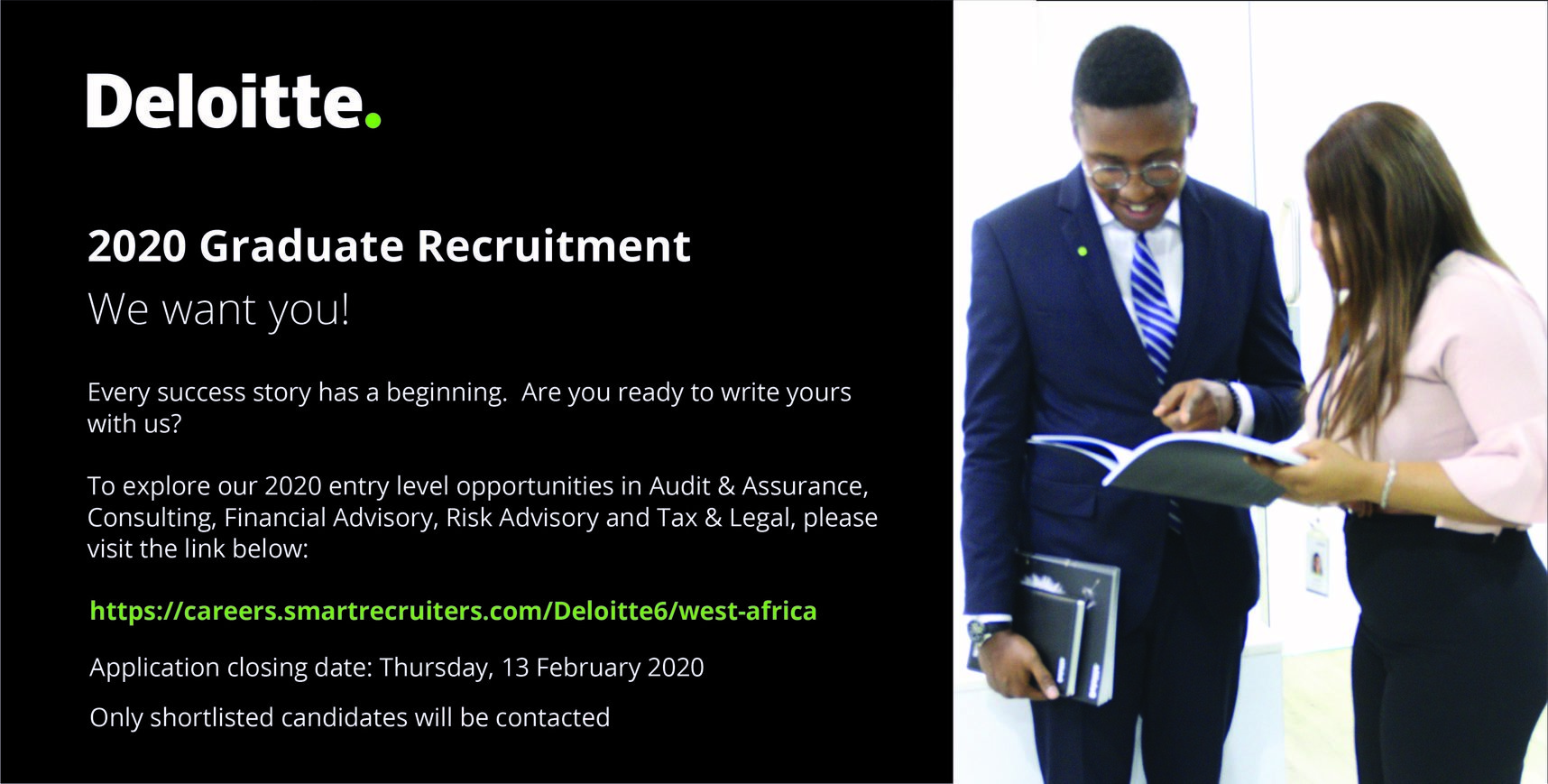 Deloitte Nigeria 2020 Graduate Recruitment – Audit & Assurance