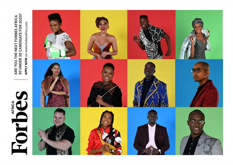 Call for Nominations: FORBES AFRICA 30 Under 30 Class of 2020
