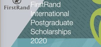 FirstRand Laurie Dippenaar Scholarship for International Postgraduate Study 2020 (South Africans only)