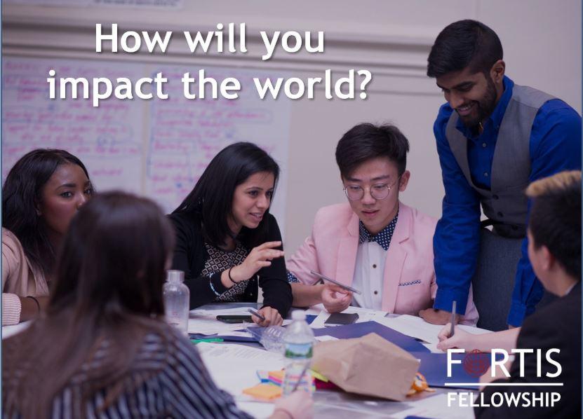 Fortis Fellowship 2020 for University Students Worldwide
