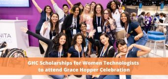 GHC Scholarships for Women Technologists to attend Grace Hopper Celebration 2020 in Orlando, FL, United States (Fully-funded)