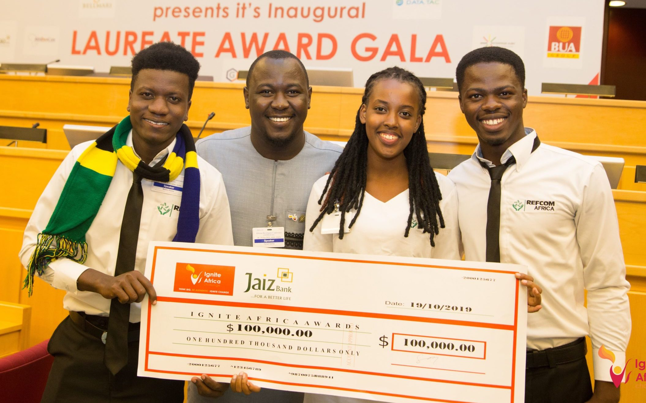Ignite Africa Challenge 2020 (100,000 USD in seed capital)