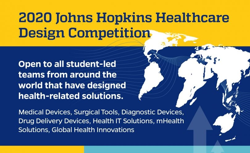 Johns Hopkins Healthcare Design Competition 2020 for Students Worldwide