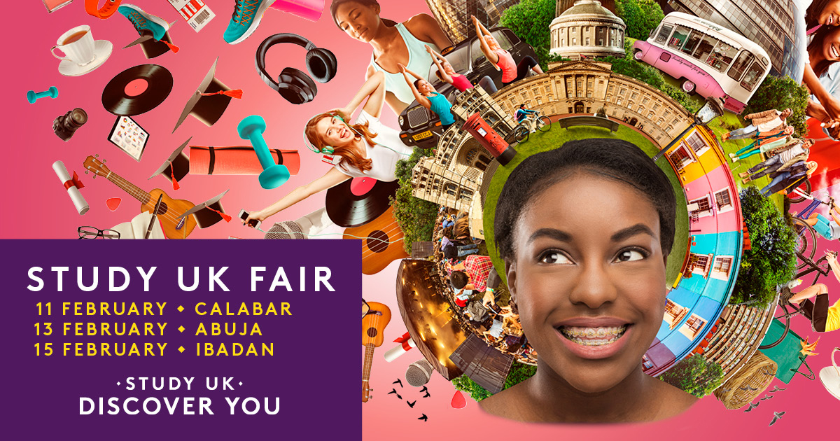 British Council Study UK Fair in Nigeria 2020 – Meet UK Universities, UK Visas and Immigration, and Receive Funding and Career advice