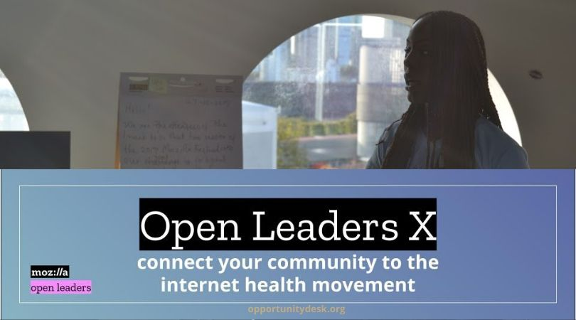 Community Leaders for Internet Health | a Mozilla Open Leaders X Program 2020