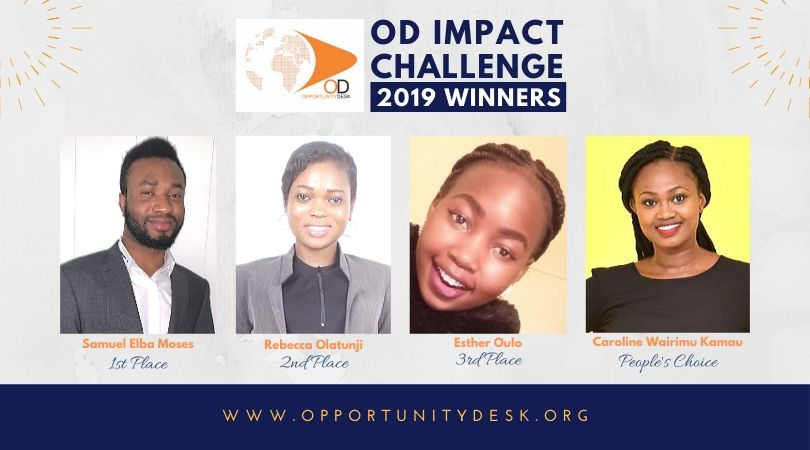 Announcing the OD Impact Challenge 2019 Winners