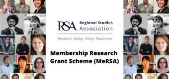 Regional Studies Association (RSA) Membership Research Grant Scheme 2020