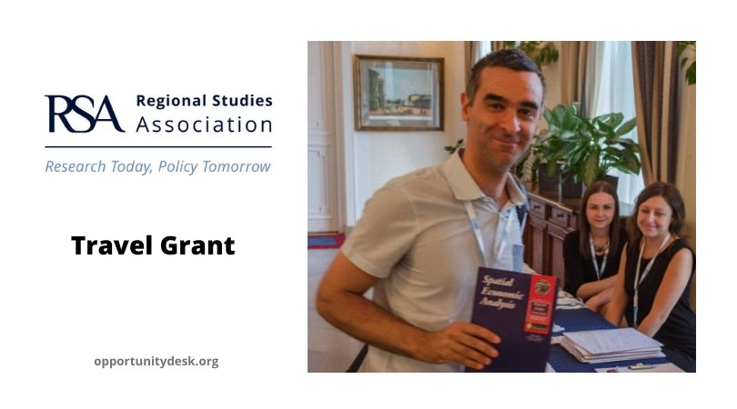 Regional Studies Association – RSA Travel Grant 2020