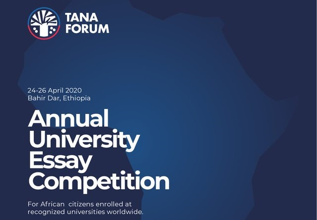 Tana Forum Annual University Essay Competition 2020