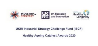 UKRI Industrial Strategy Challenge Fund (ISCF) Healthy Ageing Catalyst Awards 2020 (grants of up to £50,000)