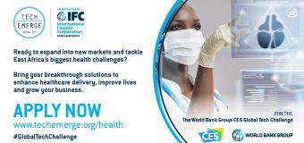 World Bank Group/IFC TechEmerge Health East Africa Program 2020