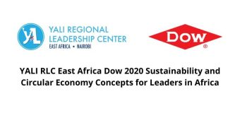 YALI RLC East Africa/Dow 2020 Sustainability and Circular Economy Concepts for Leaders in Africa (Funded)