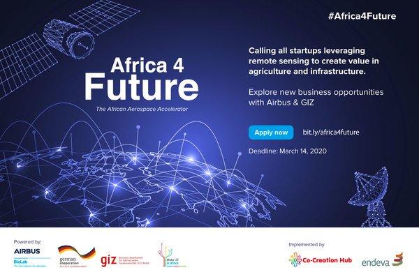 Airbus BizLab/GIZ Make-IT Africa4Future Aerospace Accelerator 2020 for African Start-ups