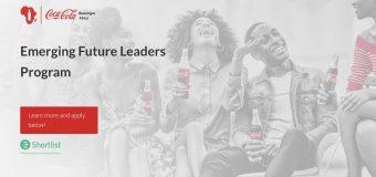 Coca-Cola Beverages Africa (CCBA) Kenya Emerging Future Leaders Program 2020