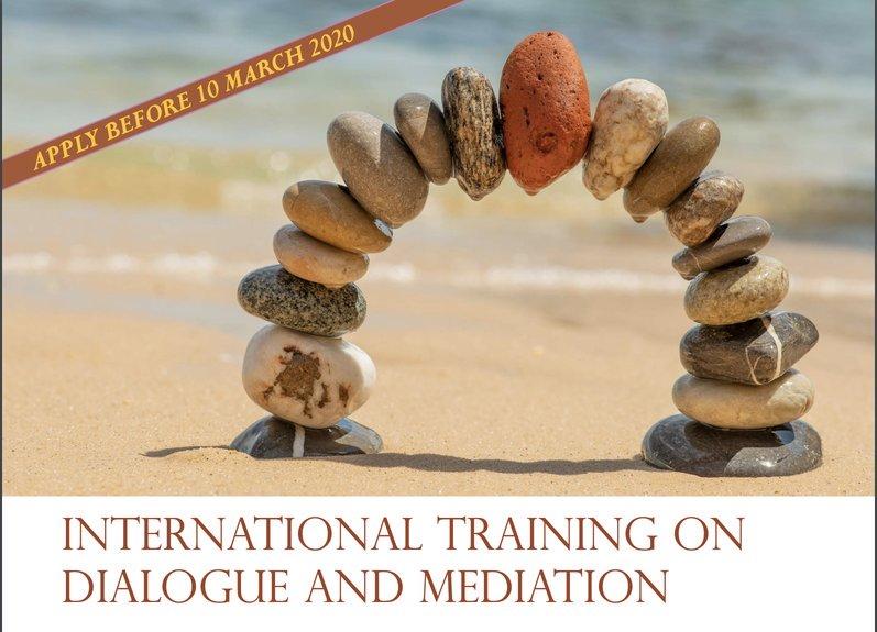 Dag Hammarskjöld Foundation/Uppsala University International Training on Dialogue and Mediation (ITDM) 2020 (Funded)