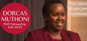 Dorcas Muthoni PhD Fellowship 2020 in ICT for African Female Candidates (Funding available)