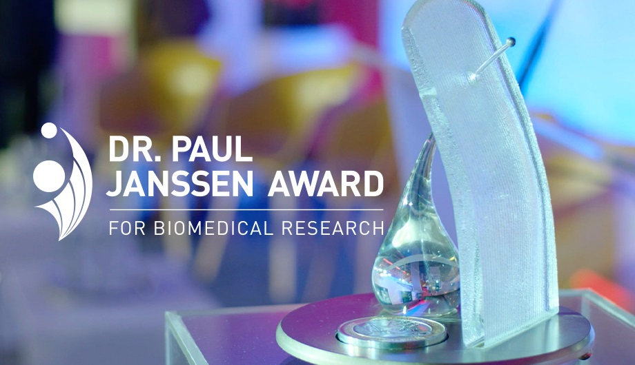Johnson & Johnson Dr. Paul Janssen Award 2020 for Biomedical Research ($200,000 Cash prize)