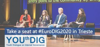 EuroDIG Youth Dialogue on Internet Governance 2020 for Young Europeans (Funded)