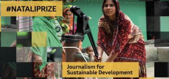 European Commission Lorenzo Natali Media Prize 2020 for Reporting on Sustainable Development Issues (€10,000 prize)