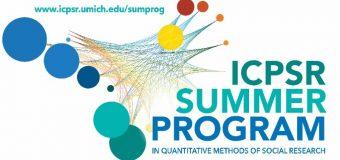 ICPSR Summer Program in Quantitative Methods of Social Research 2020 (Scholarship for Scholars in the MENA Region)