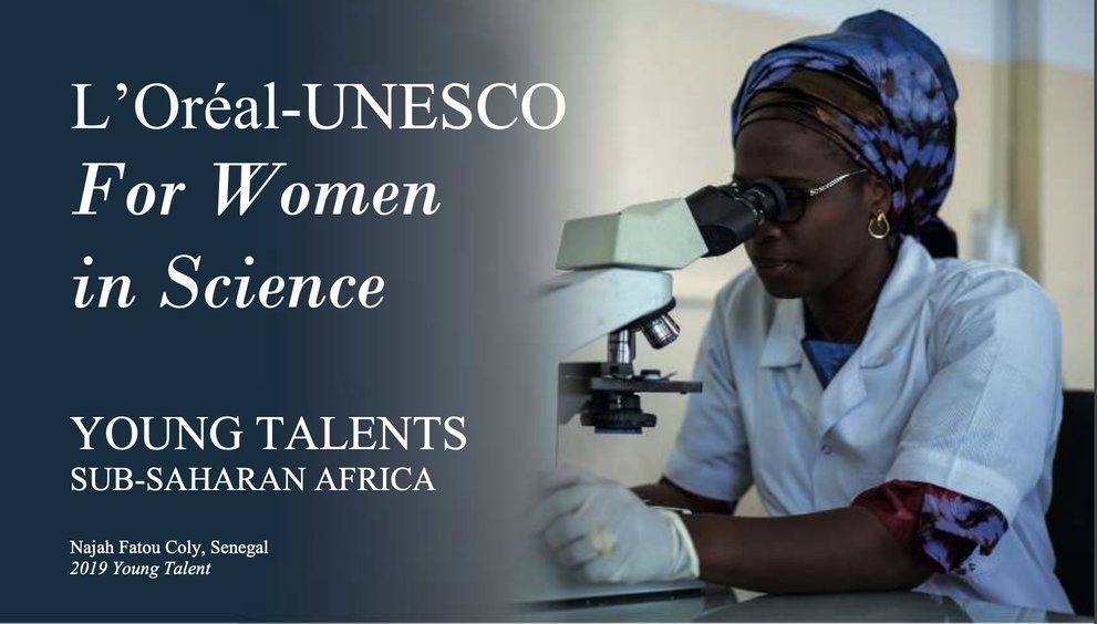 L'Oréal-UNESCO For Women in Science Young Talents Sub-Saharan Africa 2020 for PhD and Post-PhD Researchers (Up to €25,000)
