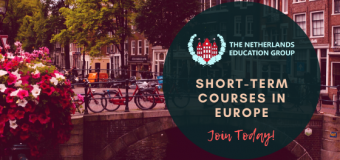 The Netherlands Education Group Short Course Programs in Europe (Study Abroad in 2020)