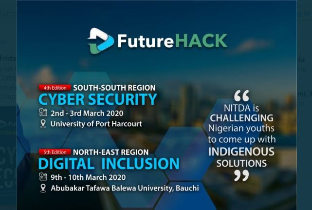 NITDA FutureHack Hackathon Competition 2020 for Programmers in Nigeria