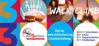 Slum2School Global Campaign for Education and Volunteer Challenge 2020