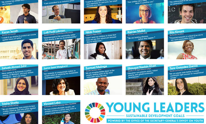 Become One of the UN Youth Envoy's Young Leaders for the Sustainable Development Goals 2020