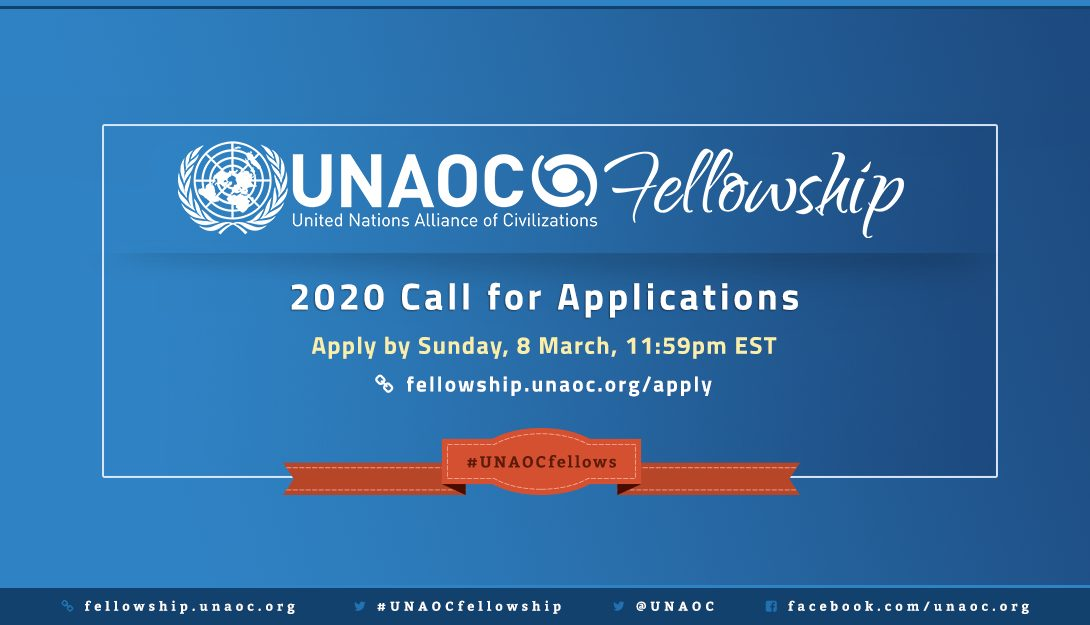 United Nations Alliance of Civilizations (UNAOC) Fellowship Programme 2020 (Fully-funded)
