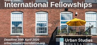 Urban Studies Foundation (USF) International Fellowships 2020 for Urban Scholars from the Global South (Funding available)