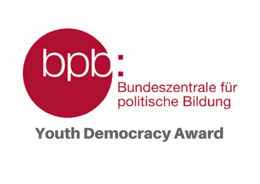 Call for Applications: Youth Democracy Award 2020 (up to 3000 Euros)