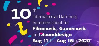 10th Hamburg International Summer Academy for Film Music, Game Music and Sound Design 2020 (Scholarship available)