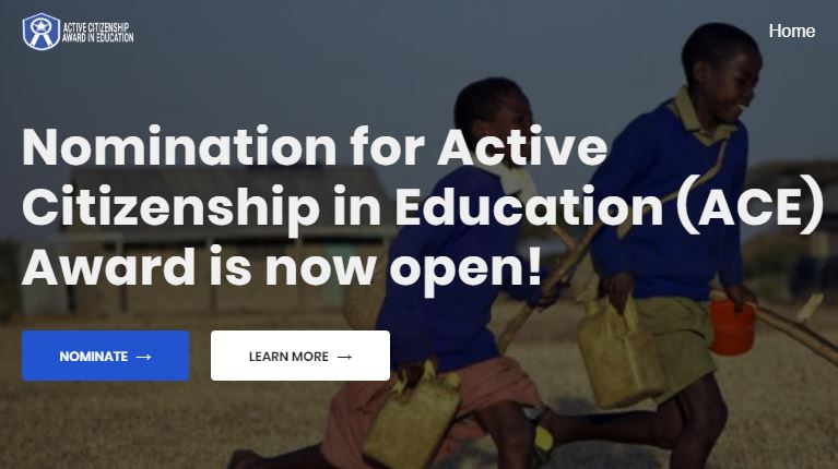 Call for Nominations: Active Citizenship in Education Award 2020 for Young Leaders in Nigeria